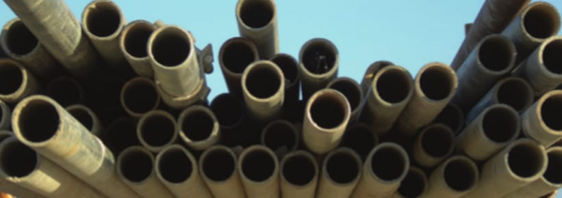Stacked tubes